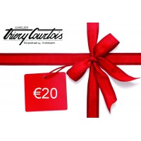Waardebon €20